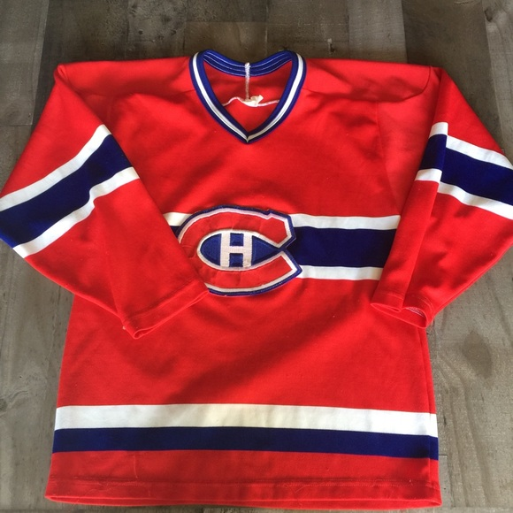 Vintage Canadien Montreal Jersey small CCM 527f946b0